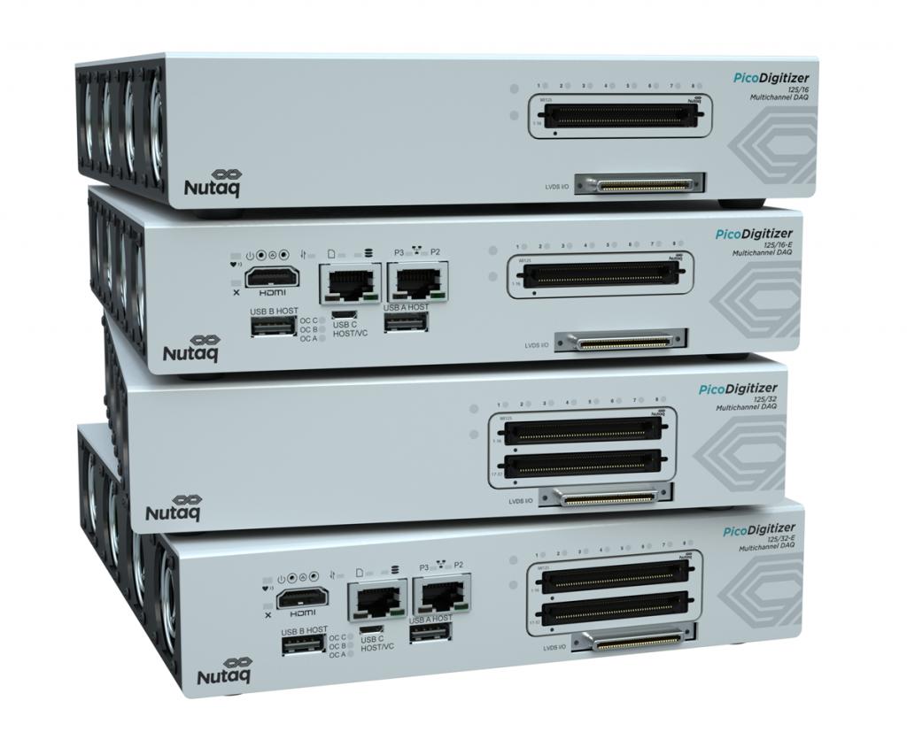 PicoDigitizer 125 & 125-E- 16 channels and 32 channels